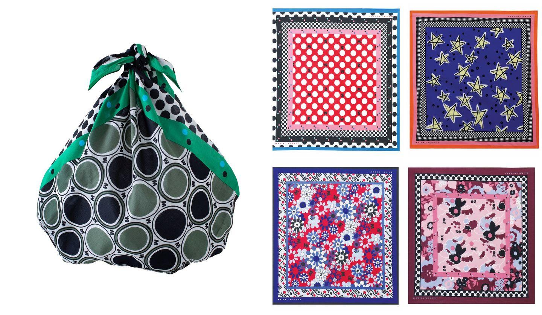 「マルニ」の風呂敷スカーフ、最新デザイン5選