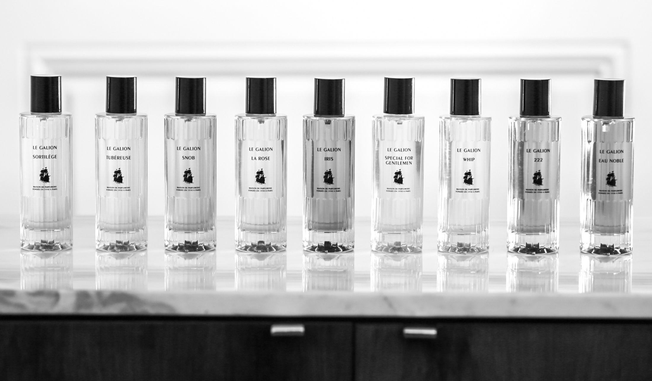 伝説と呼ばれた香りが詰まった香水ボトル9点