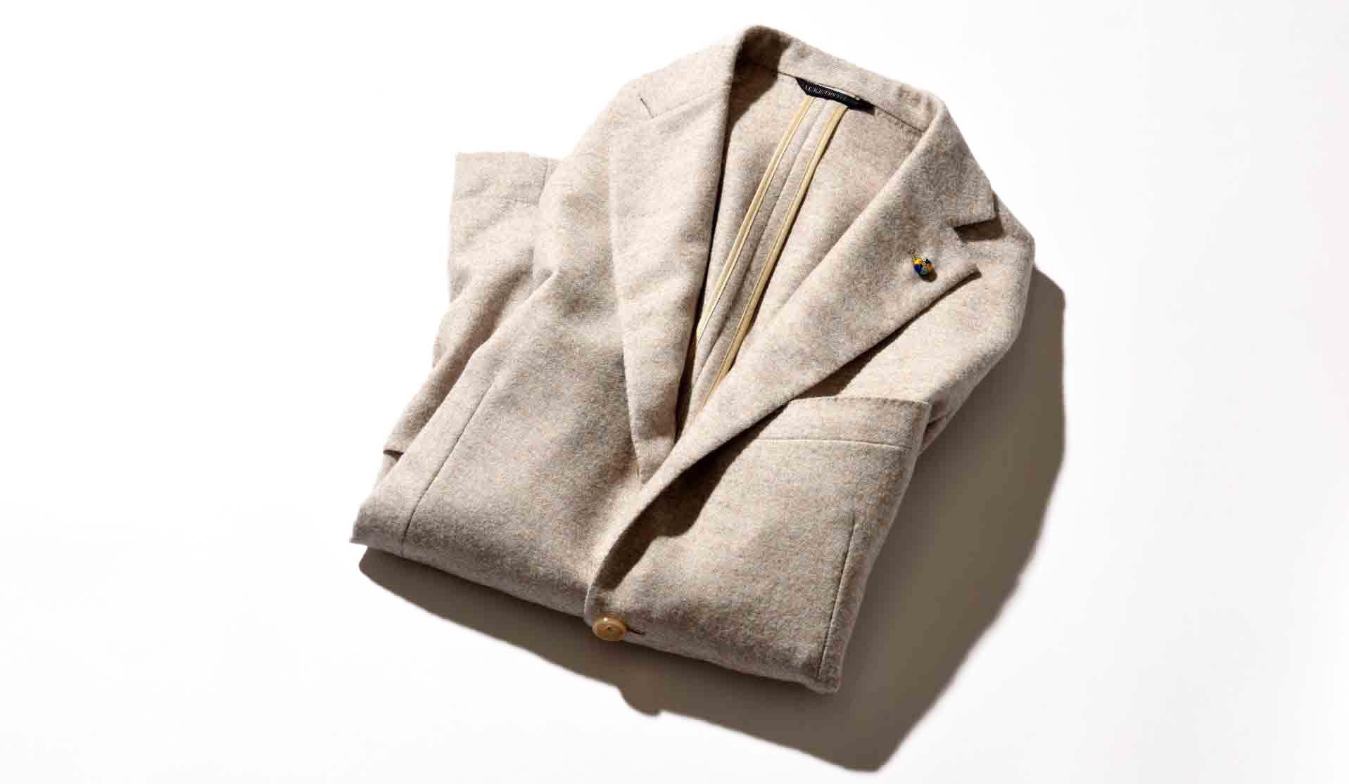 ベルヴェストのアルパカ製ジャケット「ジャケット イン ザ ボックス」