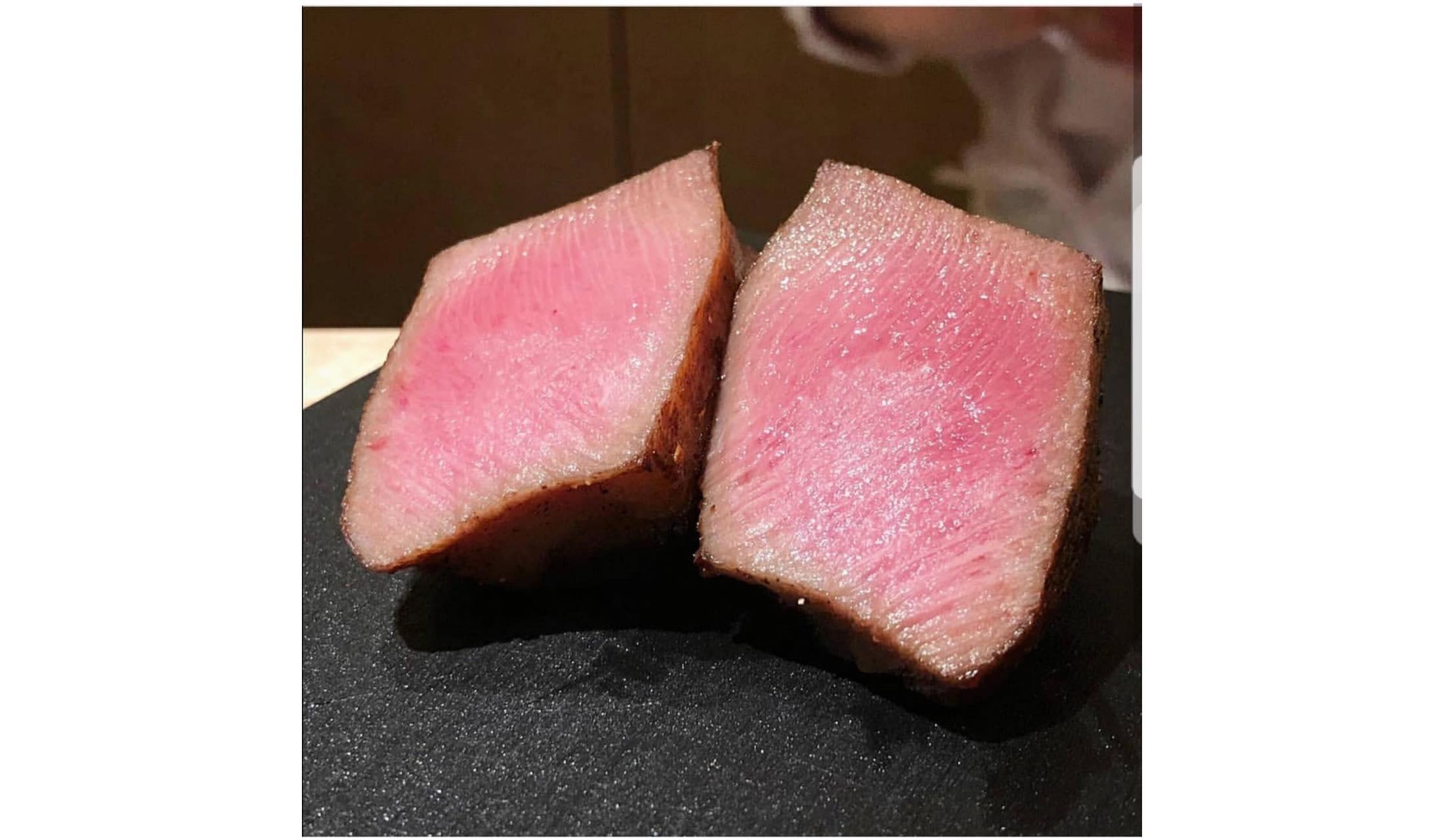 西麻布 常という割烹でその日におすすめされる肉の盛り合わせ