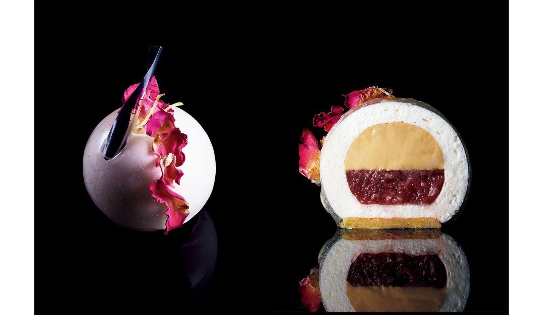 ラグジュアリーなケーキ3種。