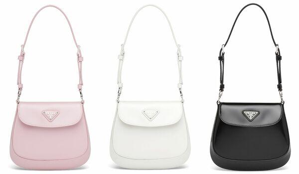 小さいのに高機能!プラダの大人気バッグ「プラダ クレオ」に待望のスモールサイズが登場