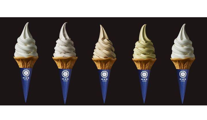「蜷尾家/NINAO(ニナオ)」のソフトクリームの画像5点