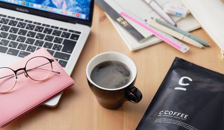 チャコールクレンズコーヒー「C COFFEE」