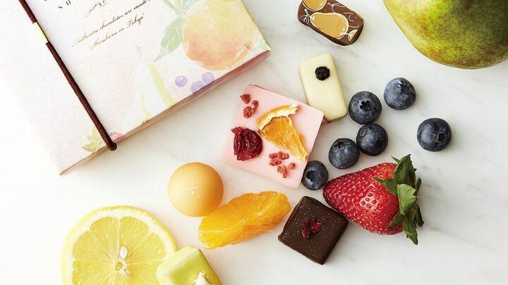 ラ・メゾン白金「果実のショコラ」