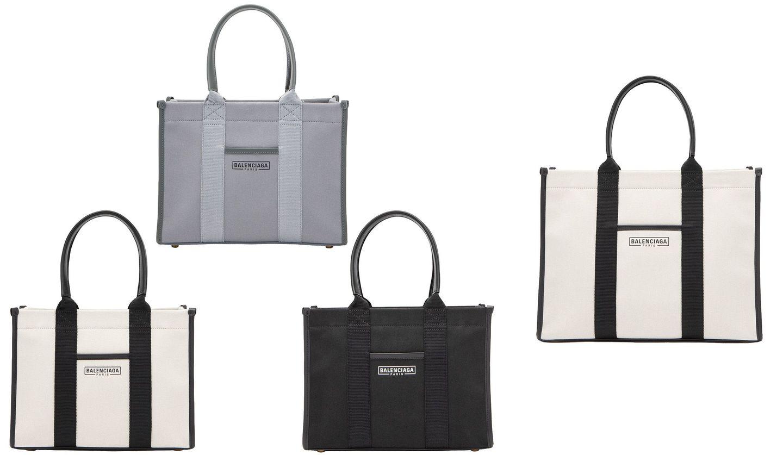 バレンシアガの新作バッグ「ハードウェア トート」