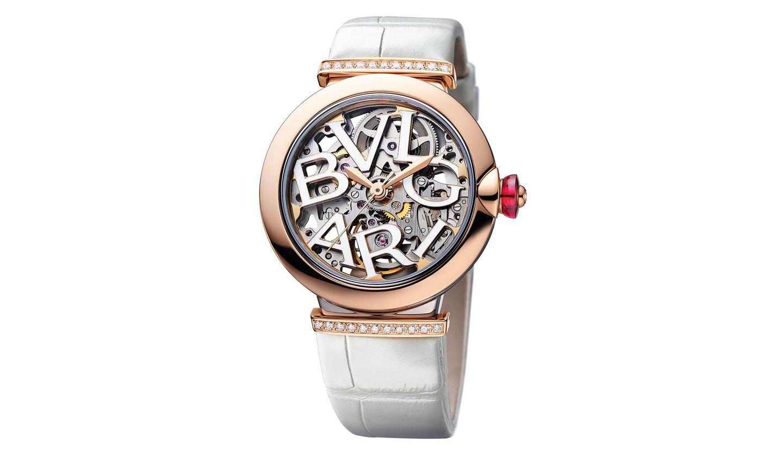 BVLGARI(ブルガリ)の時計「ルチェア スケルトン ビアンカ 日本限定モデル」