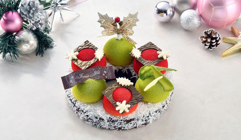 ロイヤルパークホテルの2019年のクリスマスケーキ
