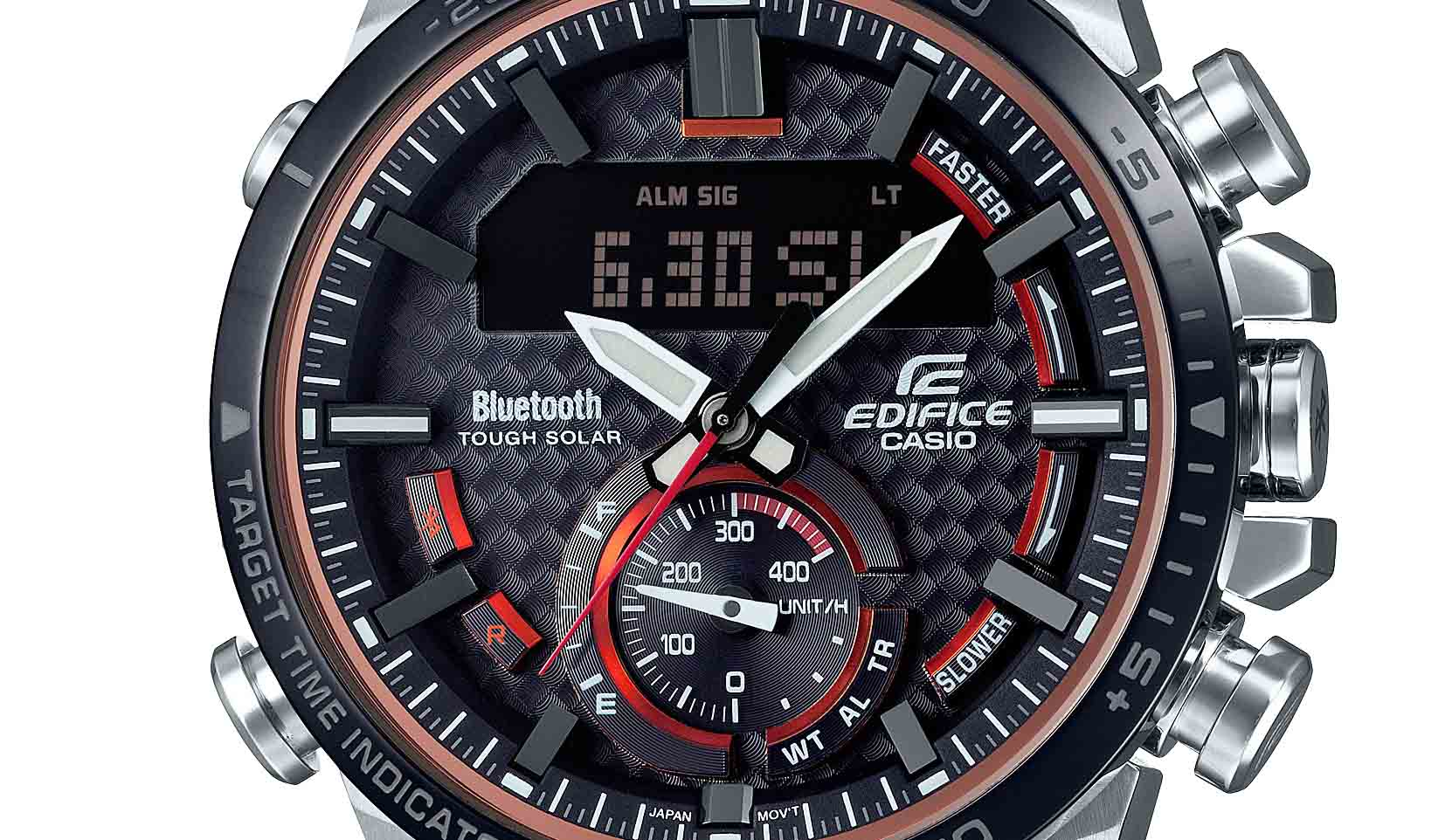 エディフィスの最新腕時計