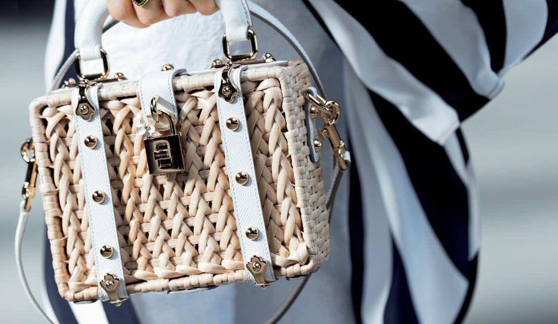 ドルチェ&ガッバーナのボックス型かごバッグ「ドルチェ ボックス」