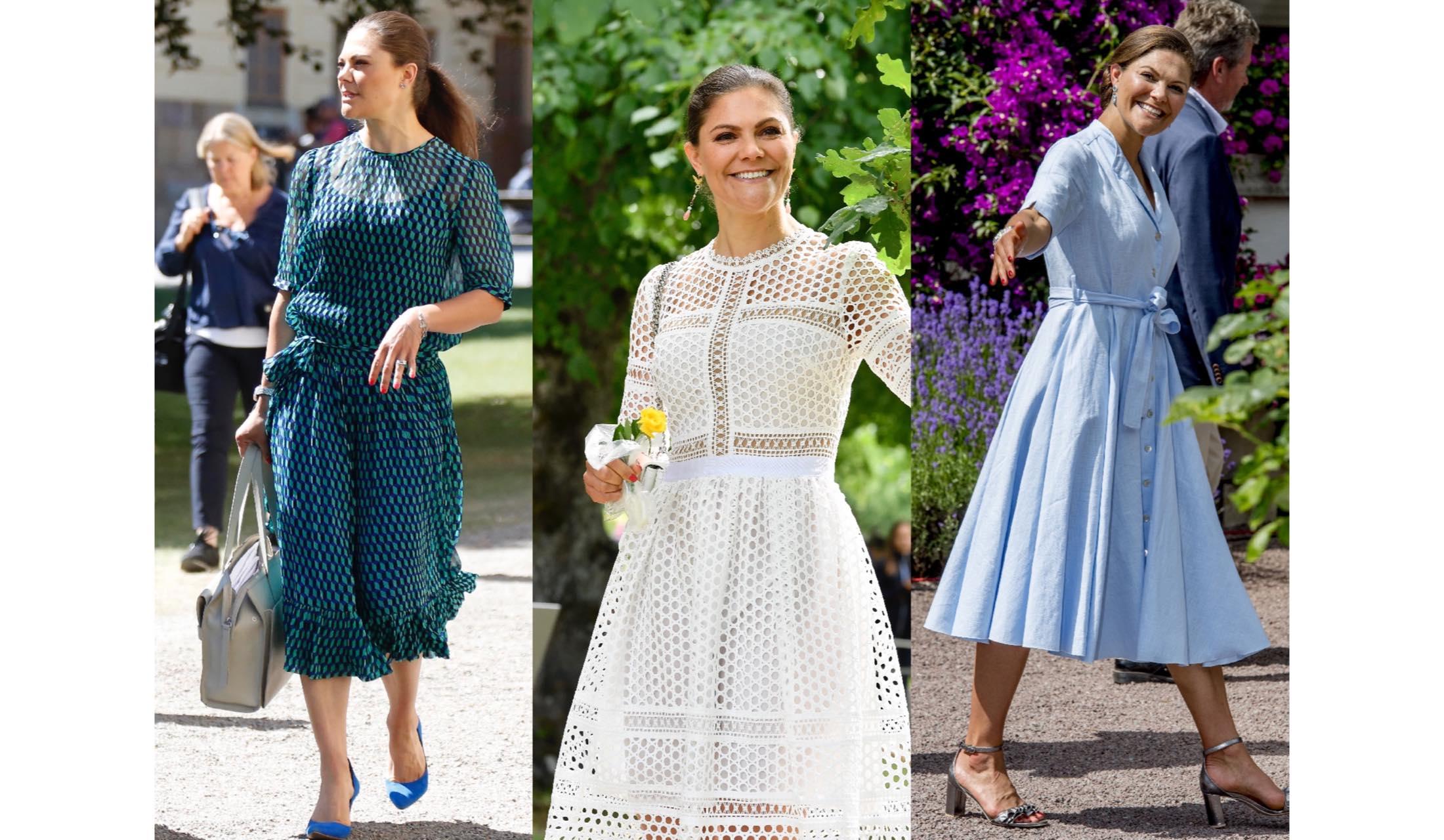 ワンピースを着こなすヴィクトリア女王