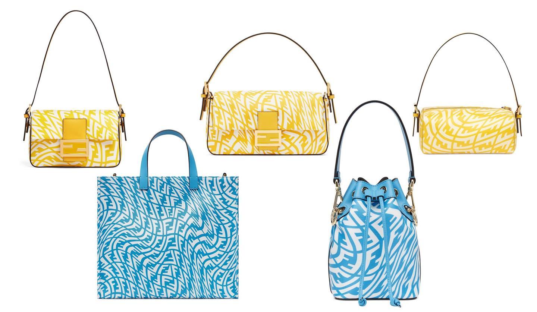 フェンディ2021年サマーカプセルコレクションのバッグ
