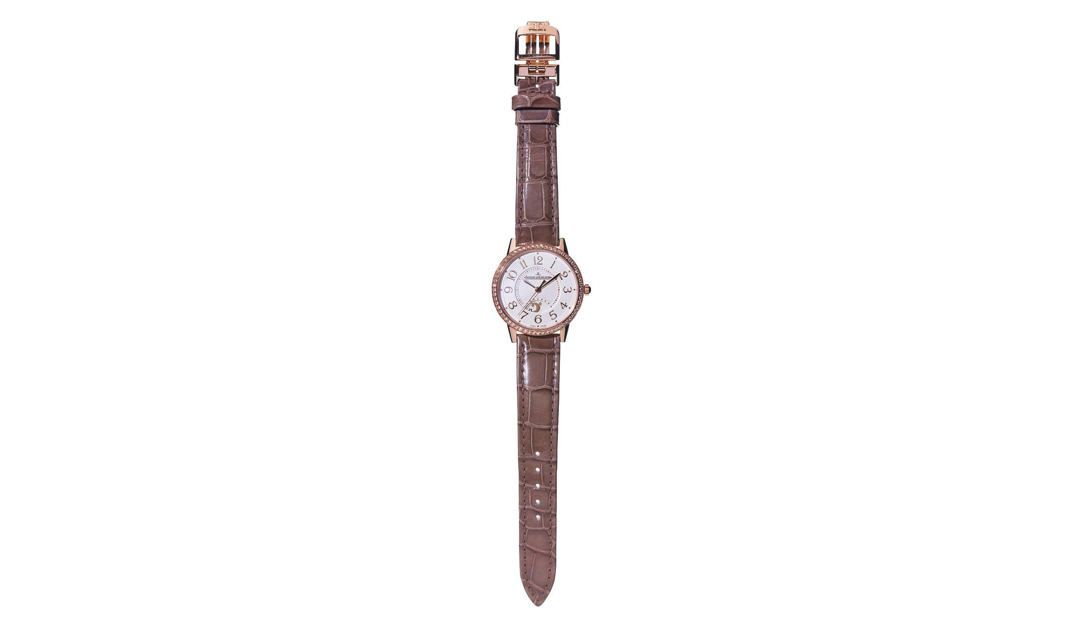 ジャガー・ルクルトのラウンド時計「ランデヴー・ナイト&デイ・ミディアム」