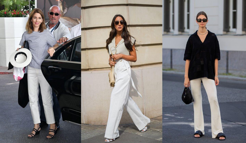 白パンツの海外セレブの着こなし3選