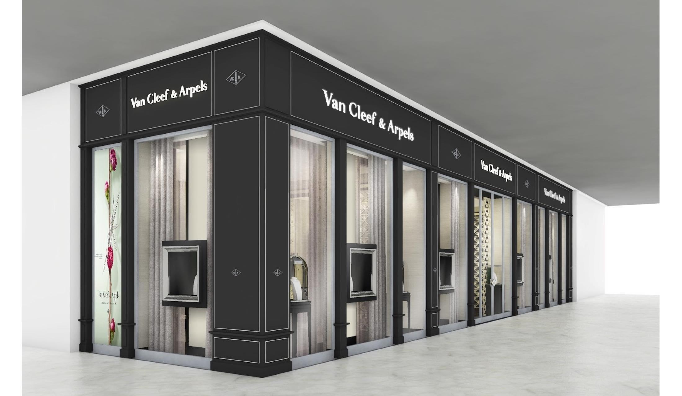 ヴァン クリーフ&アーペル(Van Cleef & Arpels)の名古屋ミッドランドスクエア店外観