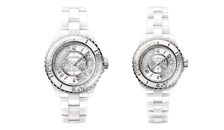 CHANEL(シャネル)の腕時計「J12・20」の2モデル