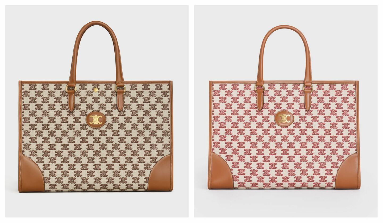 エレガントな佇まいのセリーヌの新作バッグ「トリオンフ エンブロイダリー」