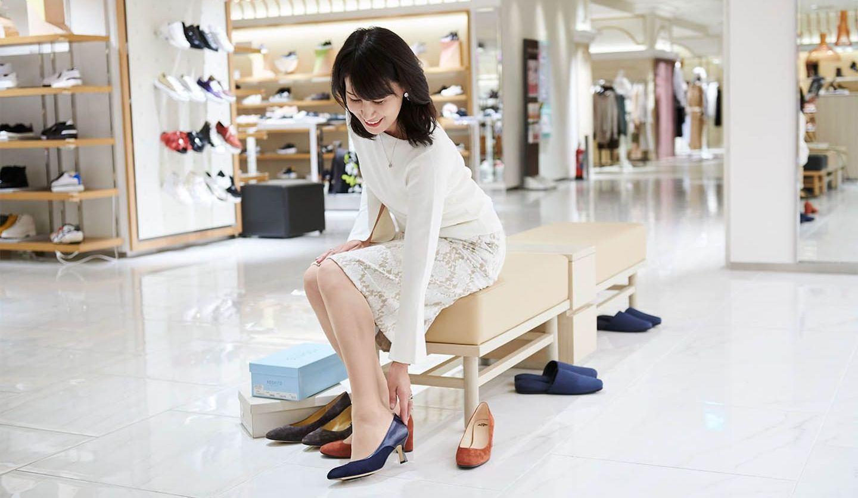 伊勢丹新宿店本館2階の婦人靴フロア「Your FIT 365」