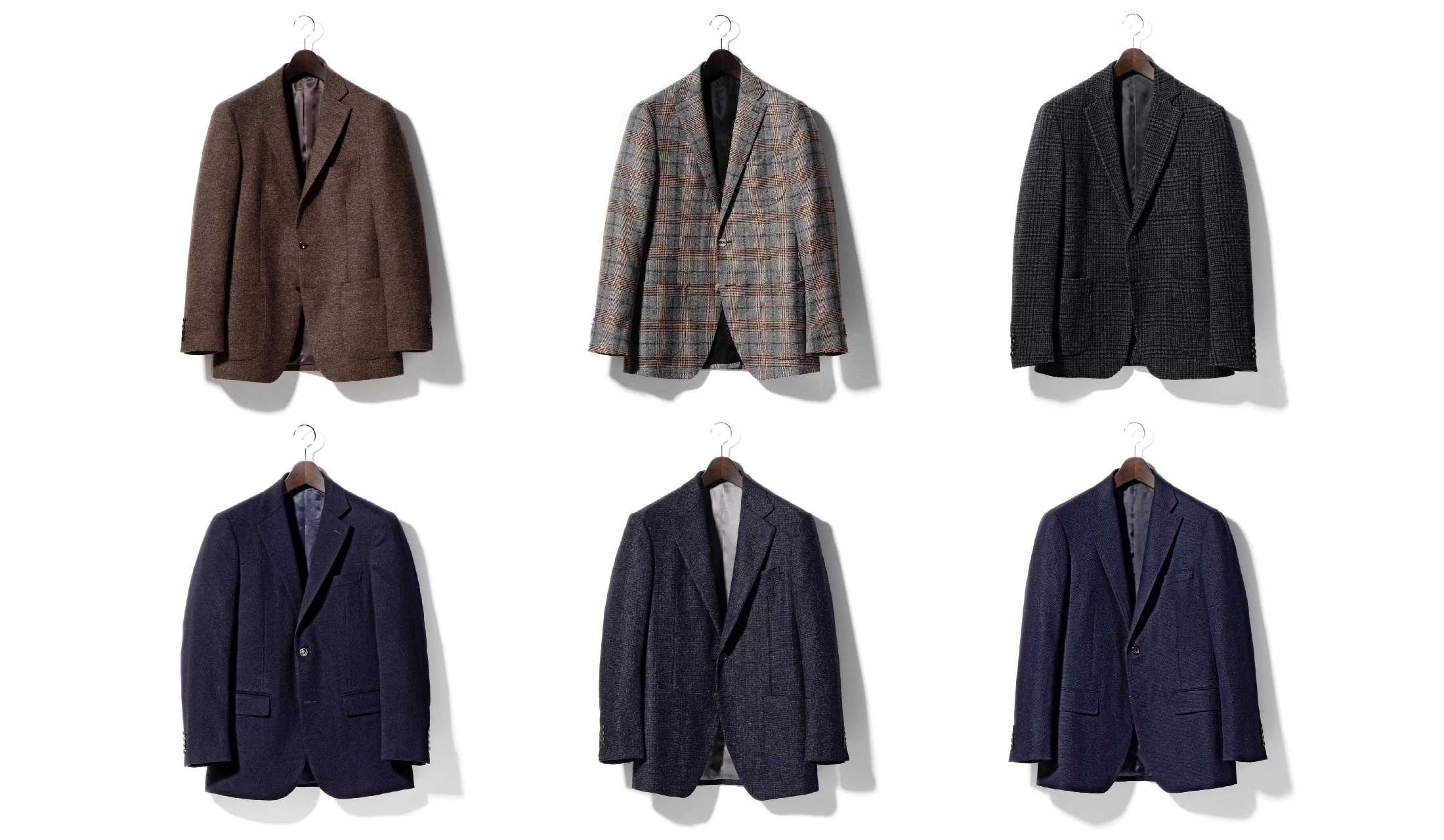 五大陸、ダーバン、ニューヨーカーのジャケット