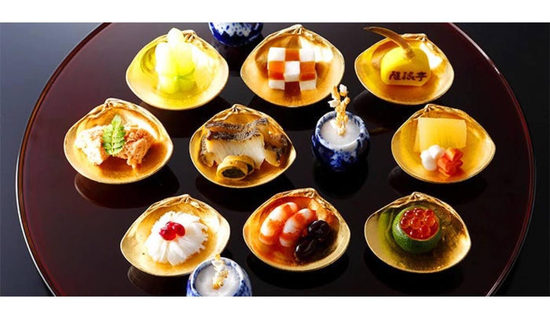 隨縁亭 ホテルモントレ グラスミア大阪の小皿料理