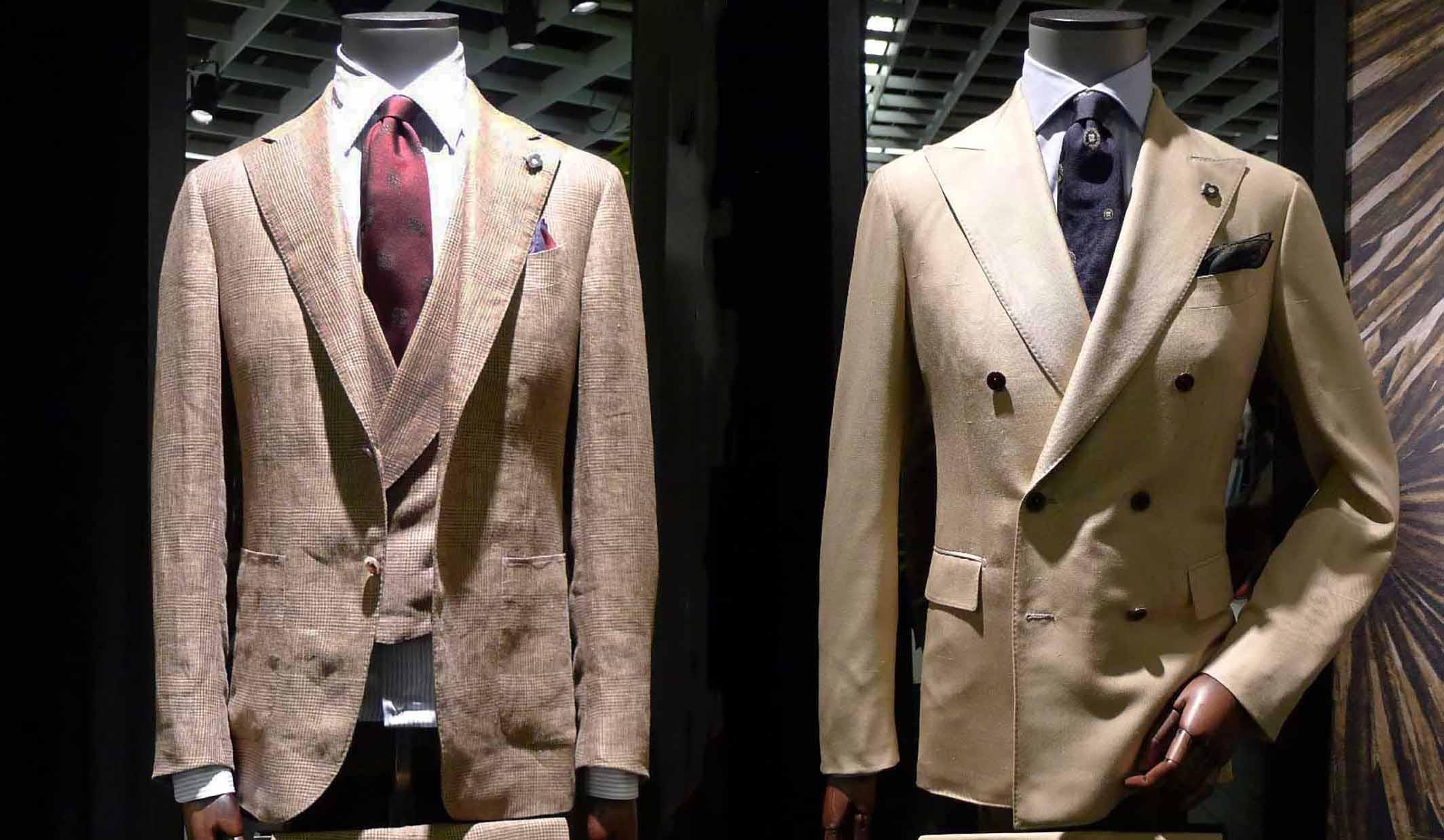 ラルディーニのスーツ
