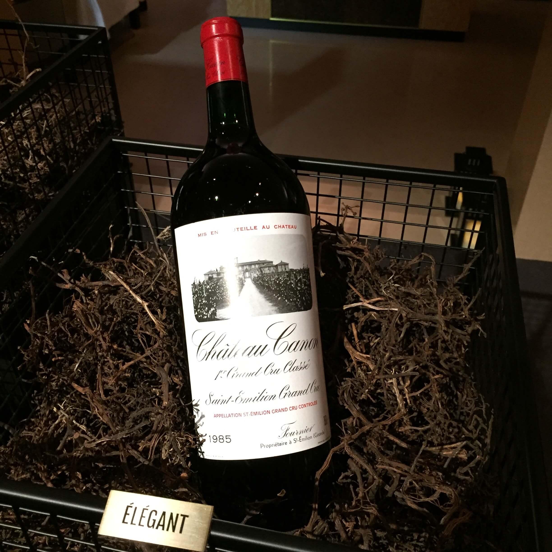シャネル社が所有するワインのボトル
