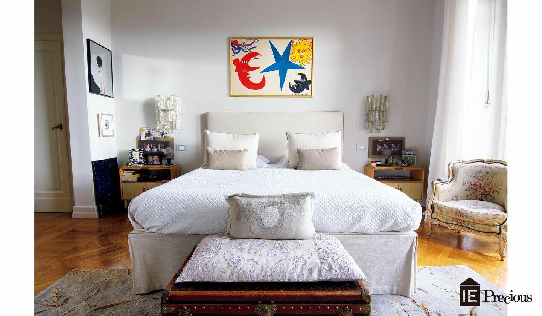 モニカ・サルティさんの寝室