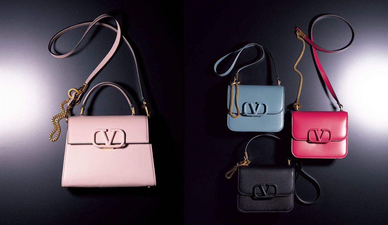 ヴァレンティノのバッグ「Vスリング」