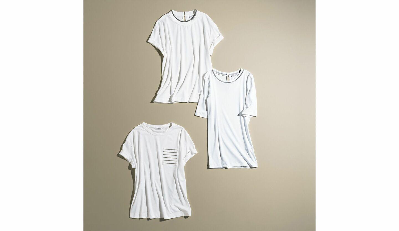 ブルネロ クチネリ×PreciousのコラボTシャツ