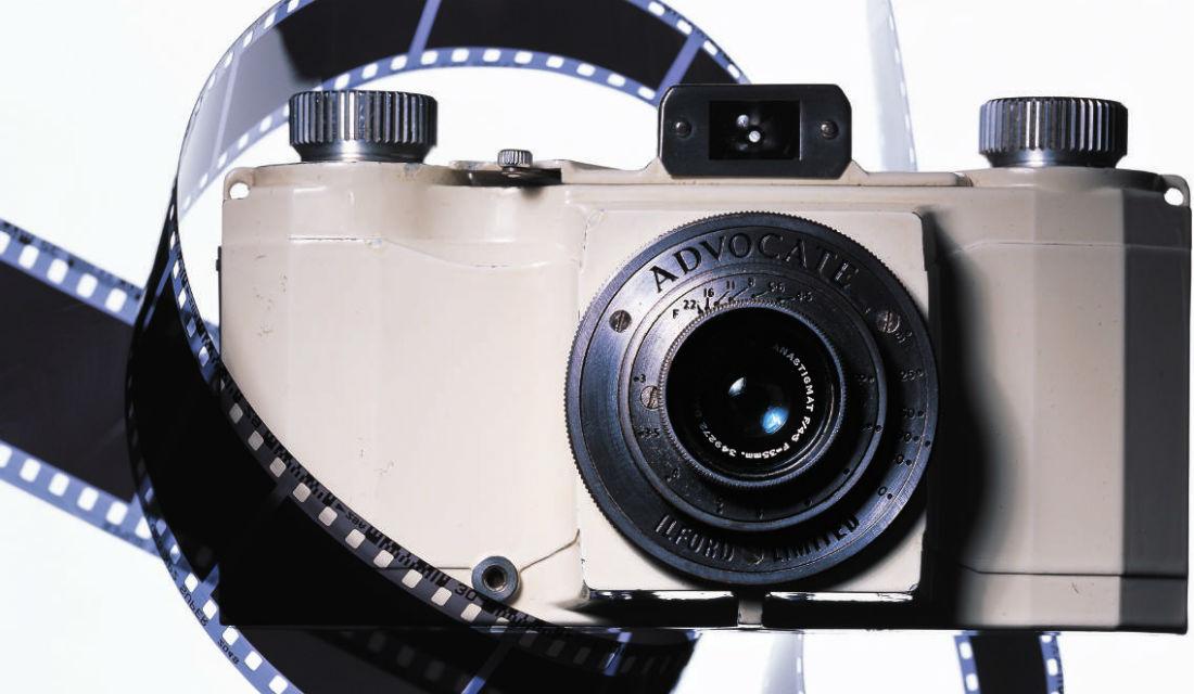 イルフォードのカメラ『アドボケイト』