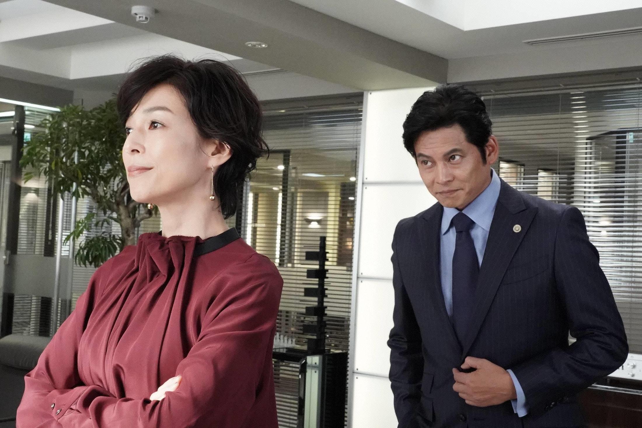 鈴木保奈美さんと織田裕二さん