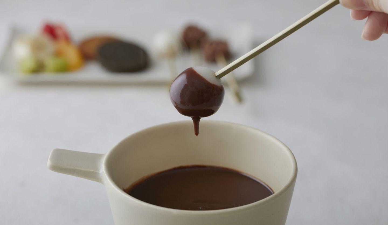 「セゾン ド セツコ 京都ショコラトリー」のショコラフォンデュ
