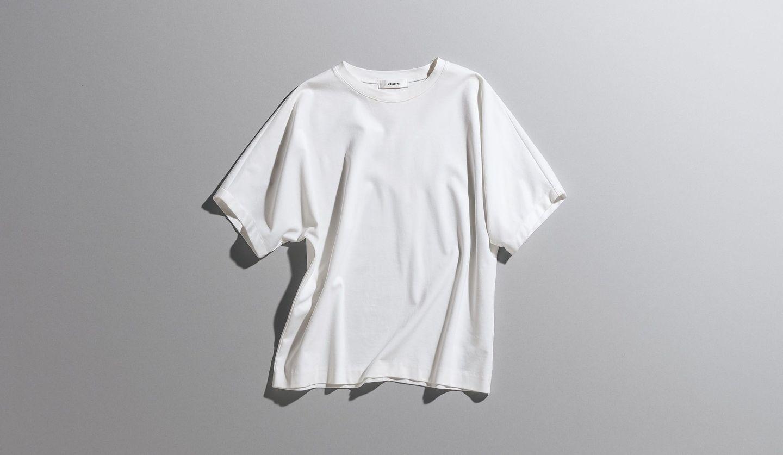 エブールの白Tシャツ