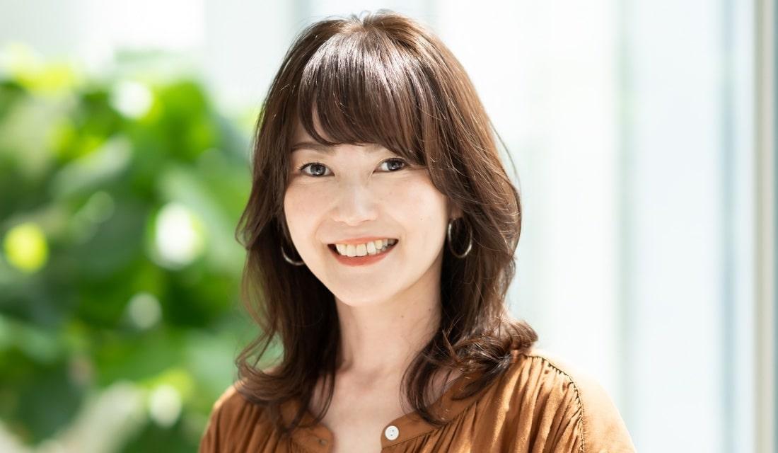 卵型のミディアムヘア代表:中川香奈さん(44歳/主婦)