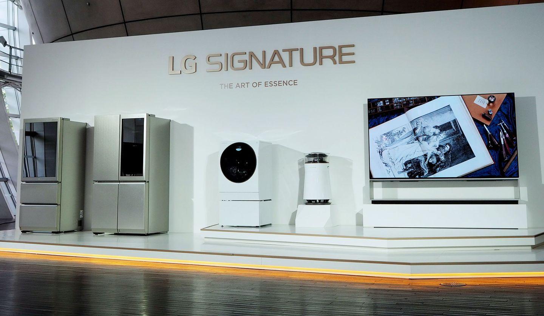 LGエレクトロニクスの最高峰シリーズ「LG SIGNATURE」