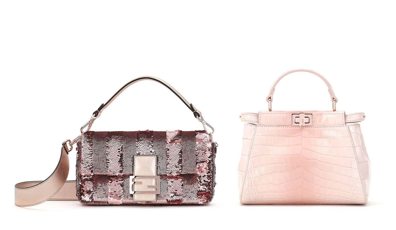 FENDI(フェンディ)旧正月限定コレクションのバッグ「Pequin Sequin Baguette」、バッグ「Peekaboo」