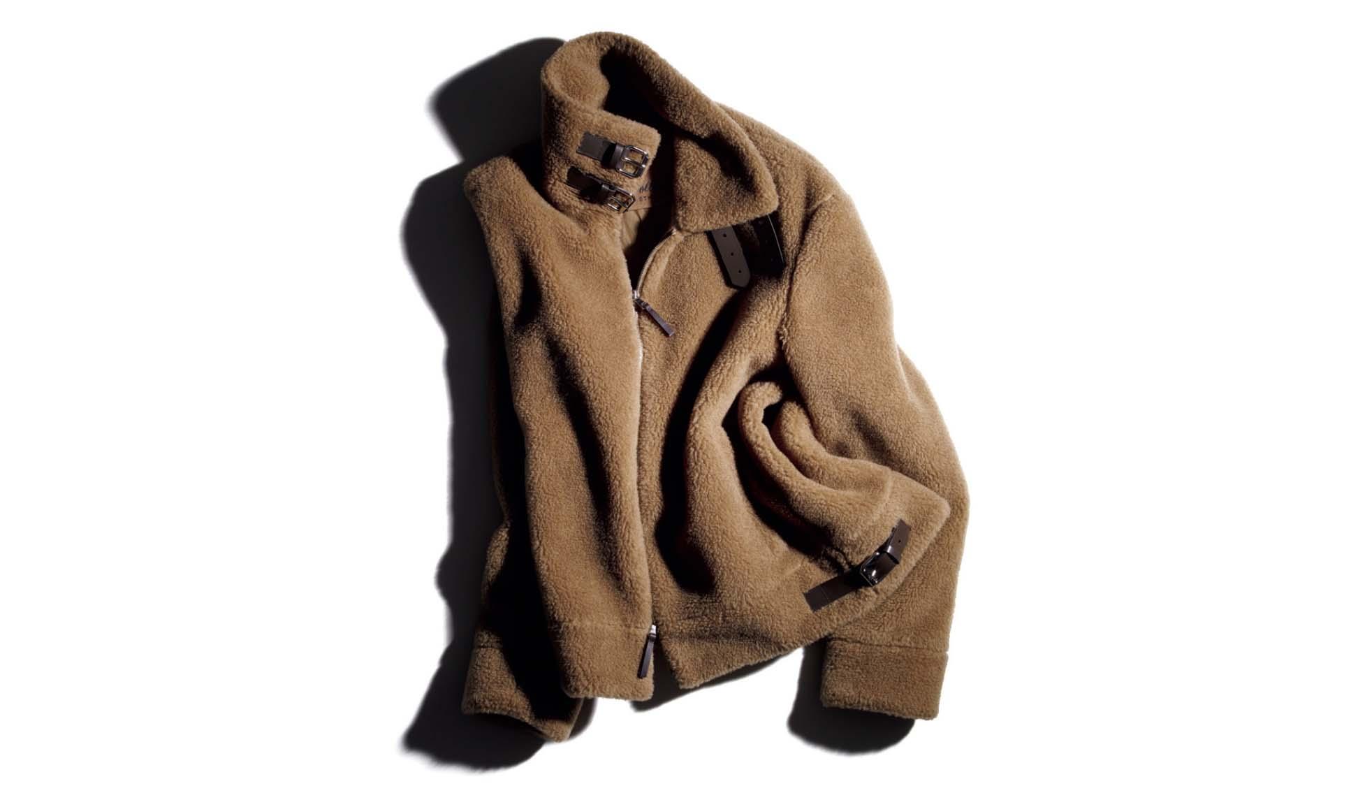 ソレシティのボンバージャケット