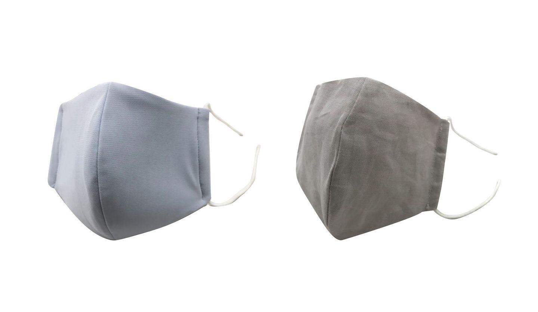 ふとんの西川から接触冷感素材と麻素材の洗えるマスクが登場