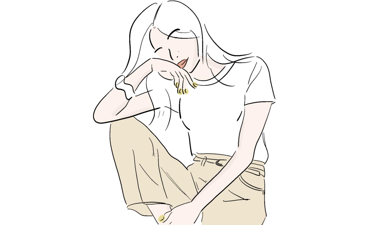 白Tを美しく着るためのブラジャー
