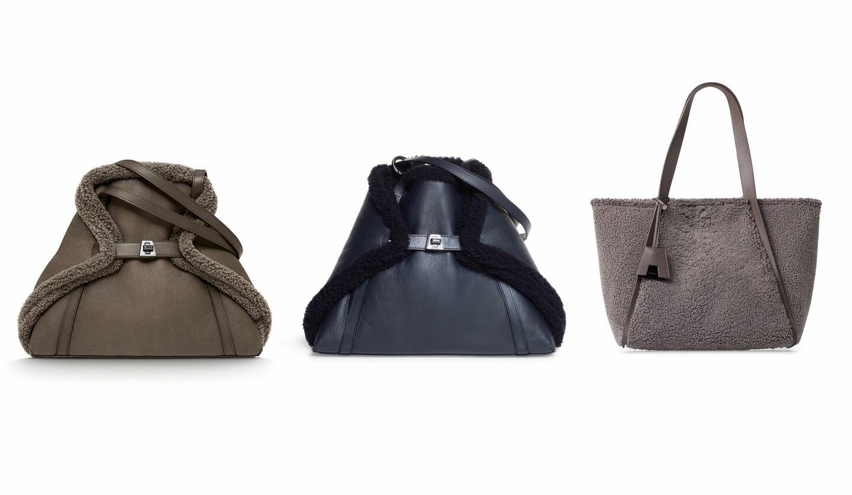 スタイルを一気に秋らしいムードに導くアクリスの新作バッグ