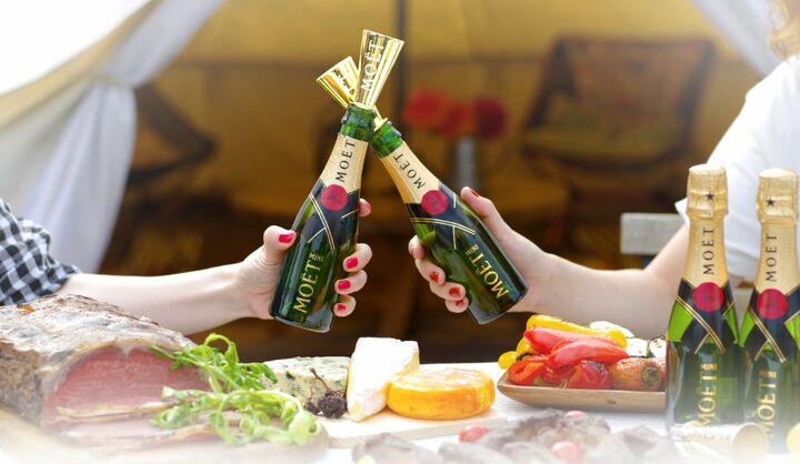 世界中で愛され続けているシャンパン、モエ・エ・シャンドンが、シャンパンを多彩に楽しめるキャンペーン、モエ マジック アワーを開催中
