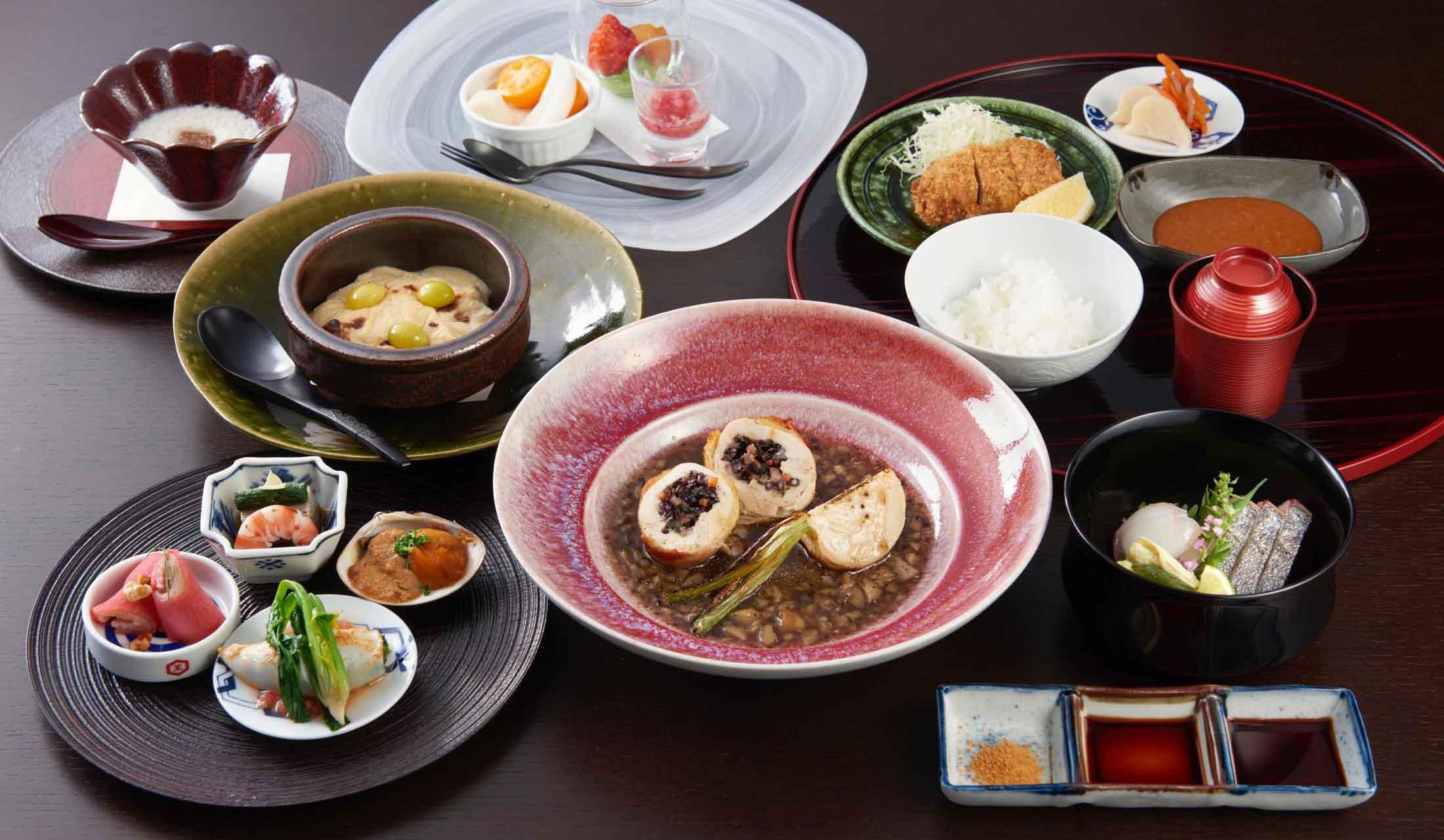 キッコーマン ライブキッチン東京のコース料理