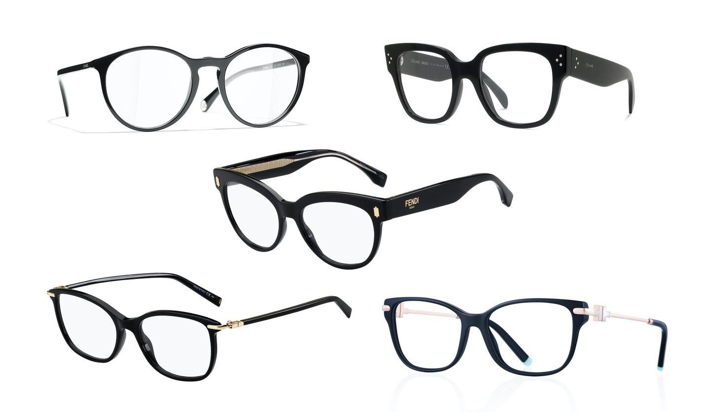 シャネル、ティファニー 、フェンディ、セリーヌ、ジバンシィの眼鏡