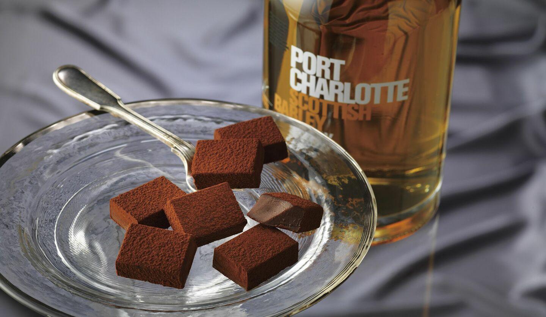 ロイズの「生チョコレート[アイラウイスキー(ポートシャーロット)]」の画像