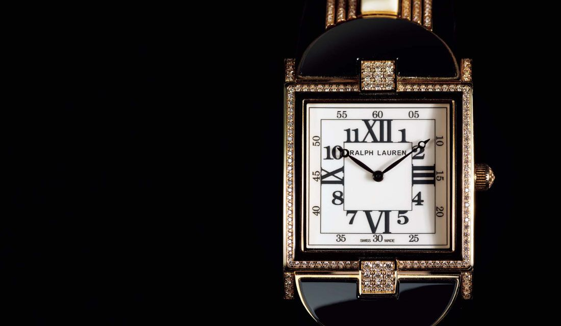 ラルフ ローレンの時計『867 モダンアールデコ ウォッチ』
