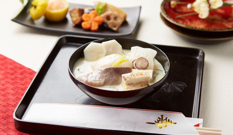 郷土料理 愛媛の白味噌お雑煮