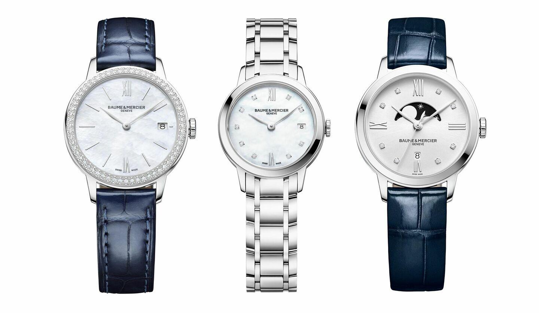 ボーム&メルシエの「クラシマ レディス」コレクションの時計