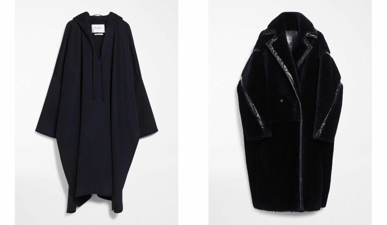 マックスマーラのシックなネイビーカラーの新作コート