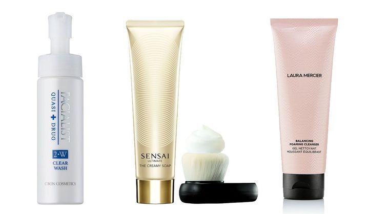 おすすめの泡洗顔と、泡立ちの良いデパコス洗顔料まとめ