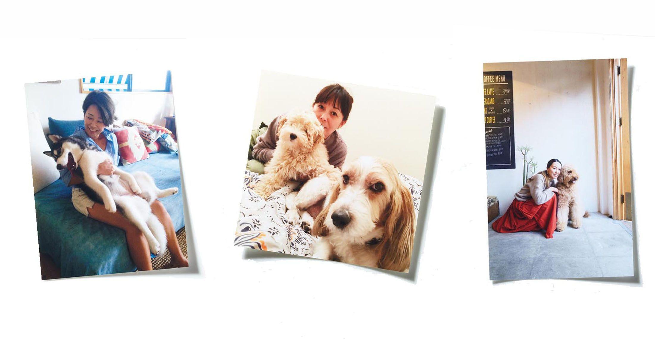 キャリア女性たちのインスタで発見した愛犬との写真